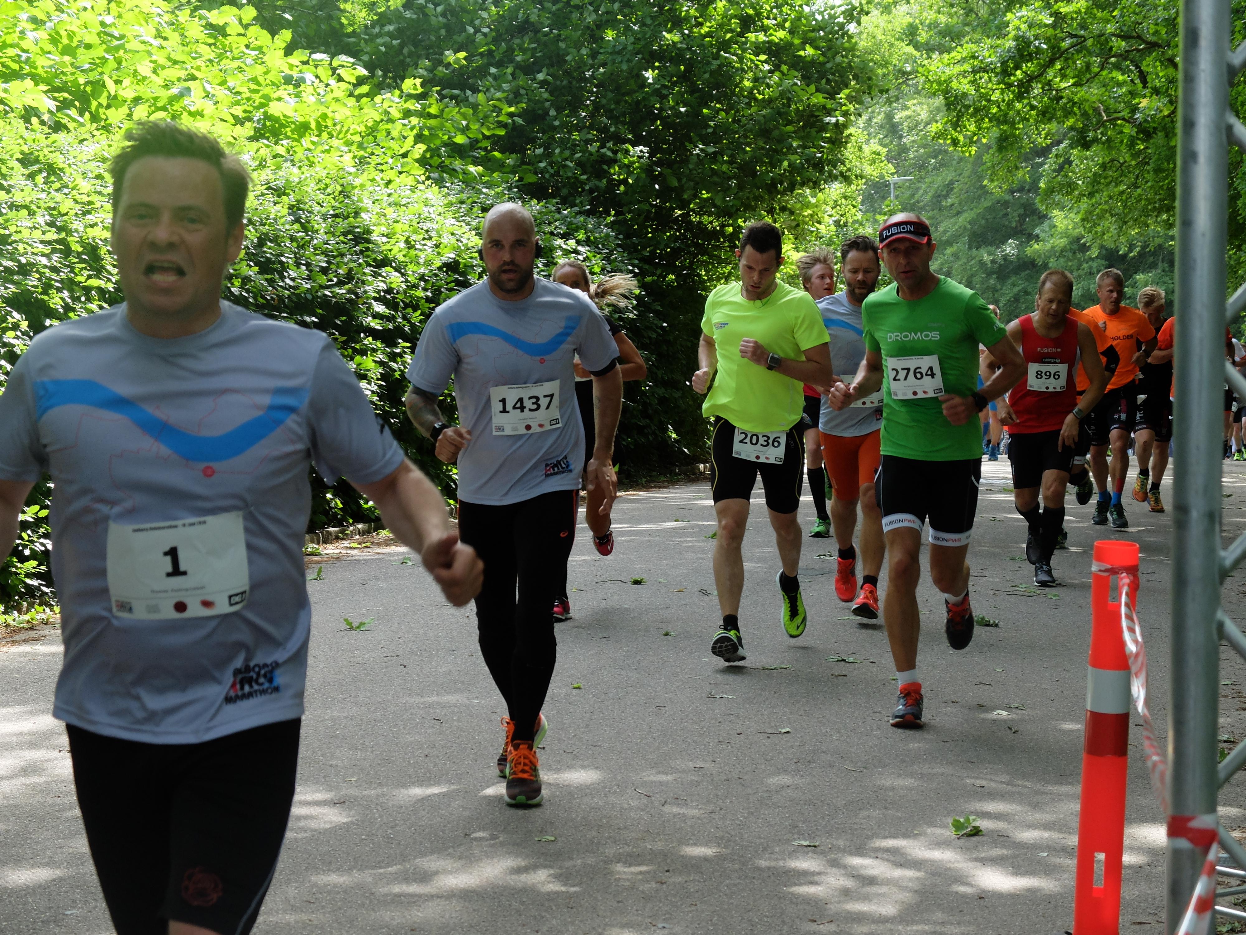 halvmarathon længde