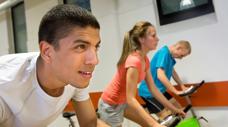 Fitness cykling spinning
