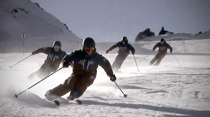 Tænk skiferien som en sport