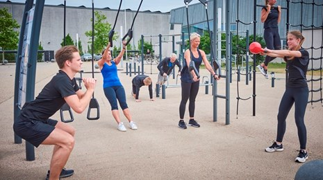 Funktionel Outdoor Fitness