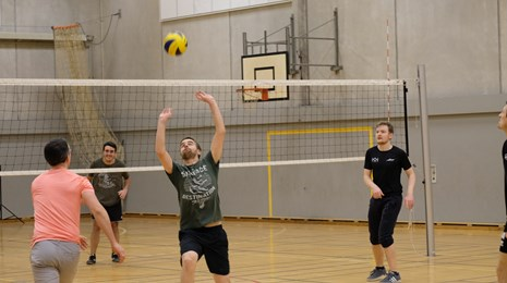 Volley spil