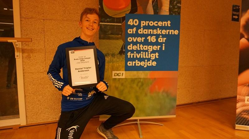 Daniel Tripler Andersen Årets Unge Ildsjæl