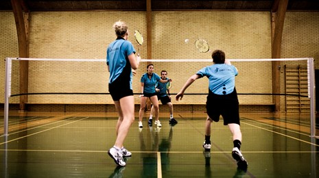 Badminton-double-kamp
